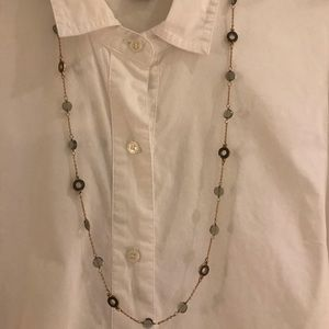J.Crew Enamel and Crystal Necklace